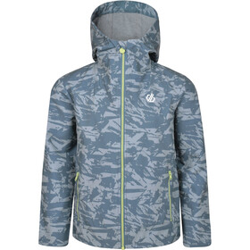 Dare 2b Gifted Veste Softshell Garçon, meteor grey shred print